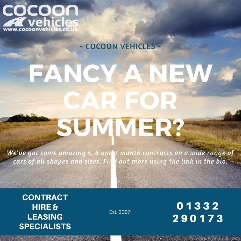 The sun is out, isn't it about time you treated yourself to a new car for summer?  Short-Term Car Lease's on fixed and flexible terms, lots of cars to choose from and quick turnaround.  Find out more using the link in the bio