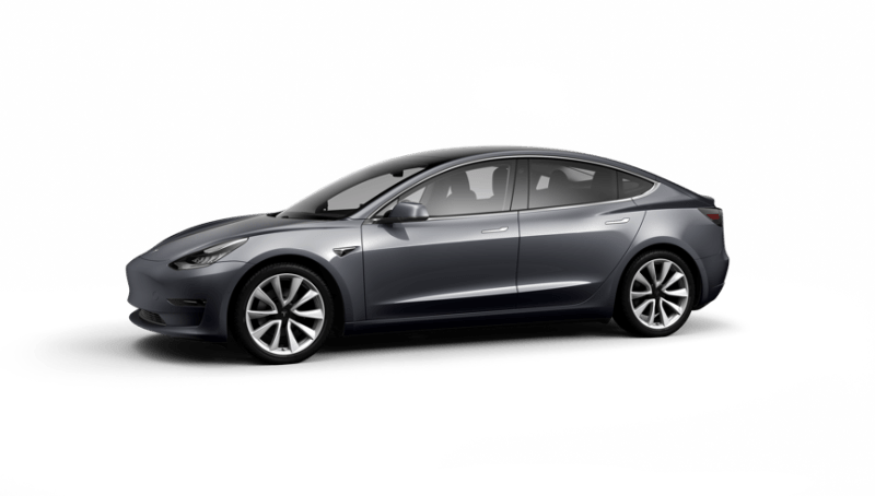 Tesla Model 3 Saloon Long Range AWD on 18 month car lease