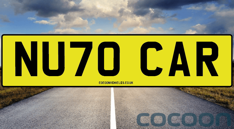 NEW 70 Plate Cars