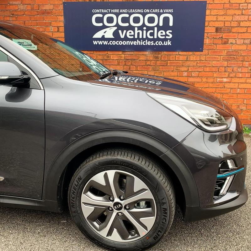As promised, the photos of the Kia E-Niro delivered to a new customer last week on a 12 month car lease.  Customer even left us a Google Review ***** - 5 Stars! Thank you so much!  @kiamotorsuk