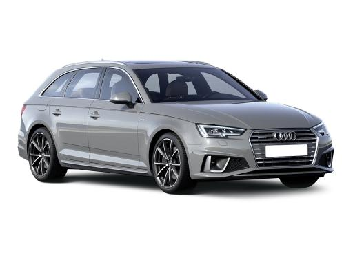 Audi A4 Avant 30 TDI S Line S Tronic on 12 month car lease