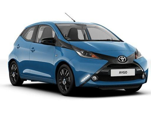 Toyota Aygo Hatchback 1.0 VVT-I [12m] 5dr Manual (Hatchback)