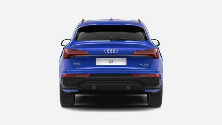 Audi Q5 Sportback Edition 1 in Ultra Blue