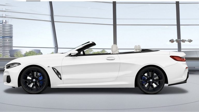 BMW 8 Series Convertible Short Term