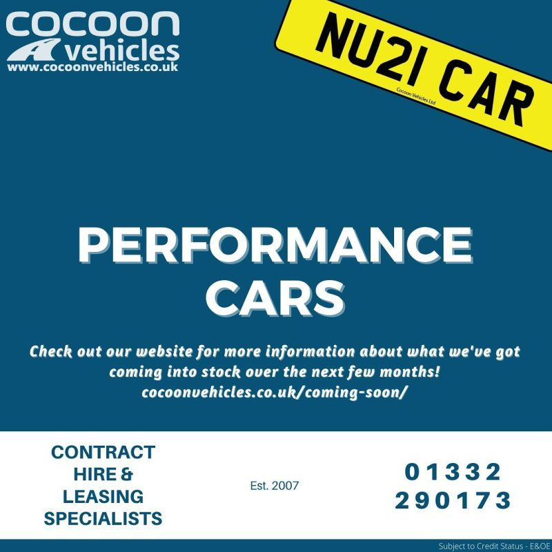 We've got a great range of Performance Cars in-stock and due in soon! Check out our website using the link in the bio.