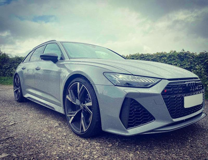 Get a load of this fantastic @audiuk RS6 that was delivered to one of our loyal customers in Chesterfield a few weeks back.   He is already looking forward to receiving a shiny new black one that is currently on order.