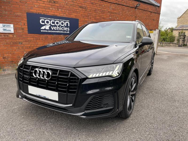 Audi Q7 ready for prep and then off to an existing customer up north! Amazing car and currently available on flexible.