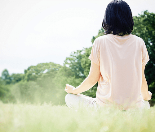 自然の中での瞑想