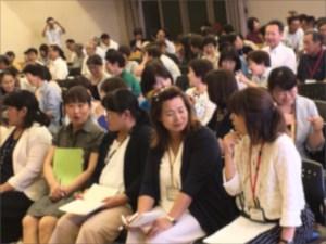 青少年健全育成大会で楽しく学ぶ教育講演会の様子
