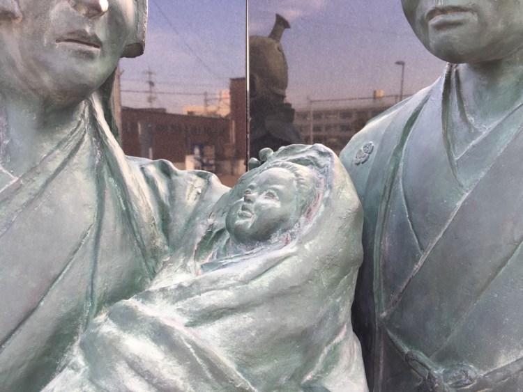 織田信長像の写真