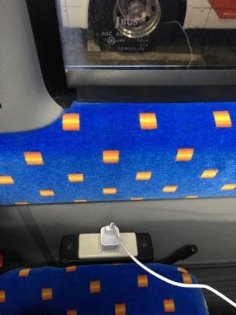 コンセント付きのバス
