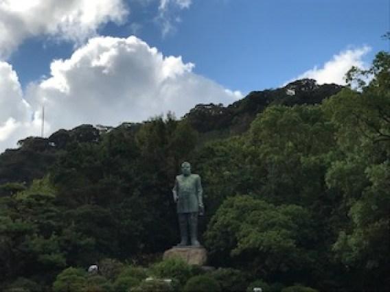 西郷隆盛像の写真
