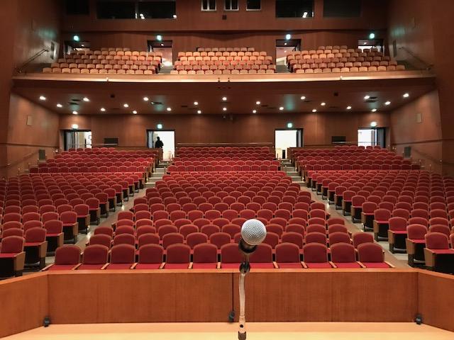 鎌田敏 講演会場の写真