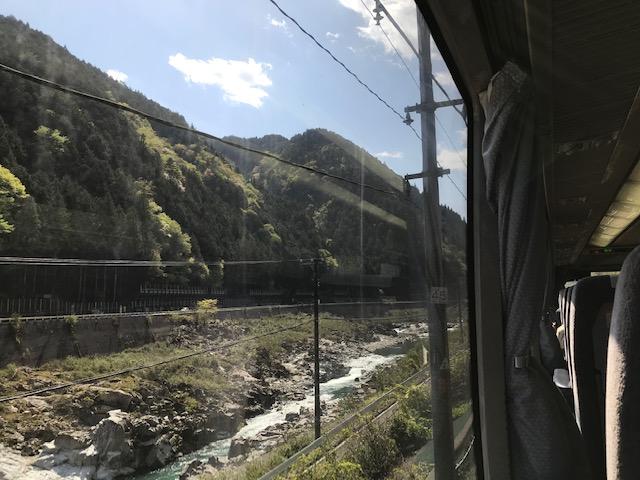 飛騨川の景色の写真