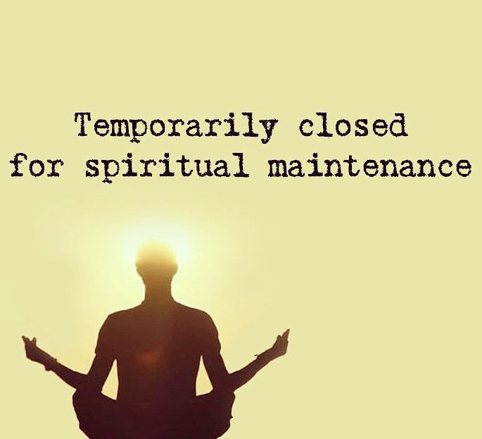 Spiritual Self-care.