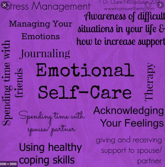 self-care - emotional