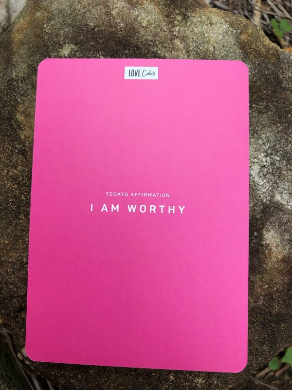 Inspire affirmation cards