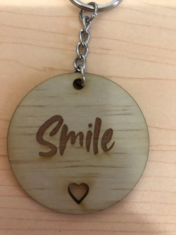 Inspire wooden Keyring