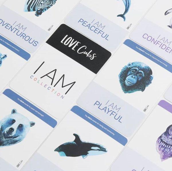 I am affirmation cards