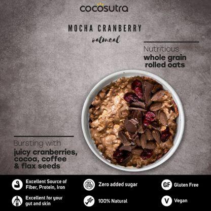 Cocosutra Mocha Cranberry Oatmeal Benefits