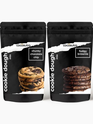 Cocosutra Cookie Dough Mix - Pack of 2 - Gifts & Hampers - Front