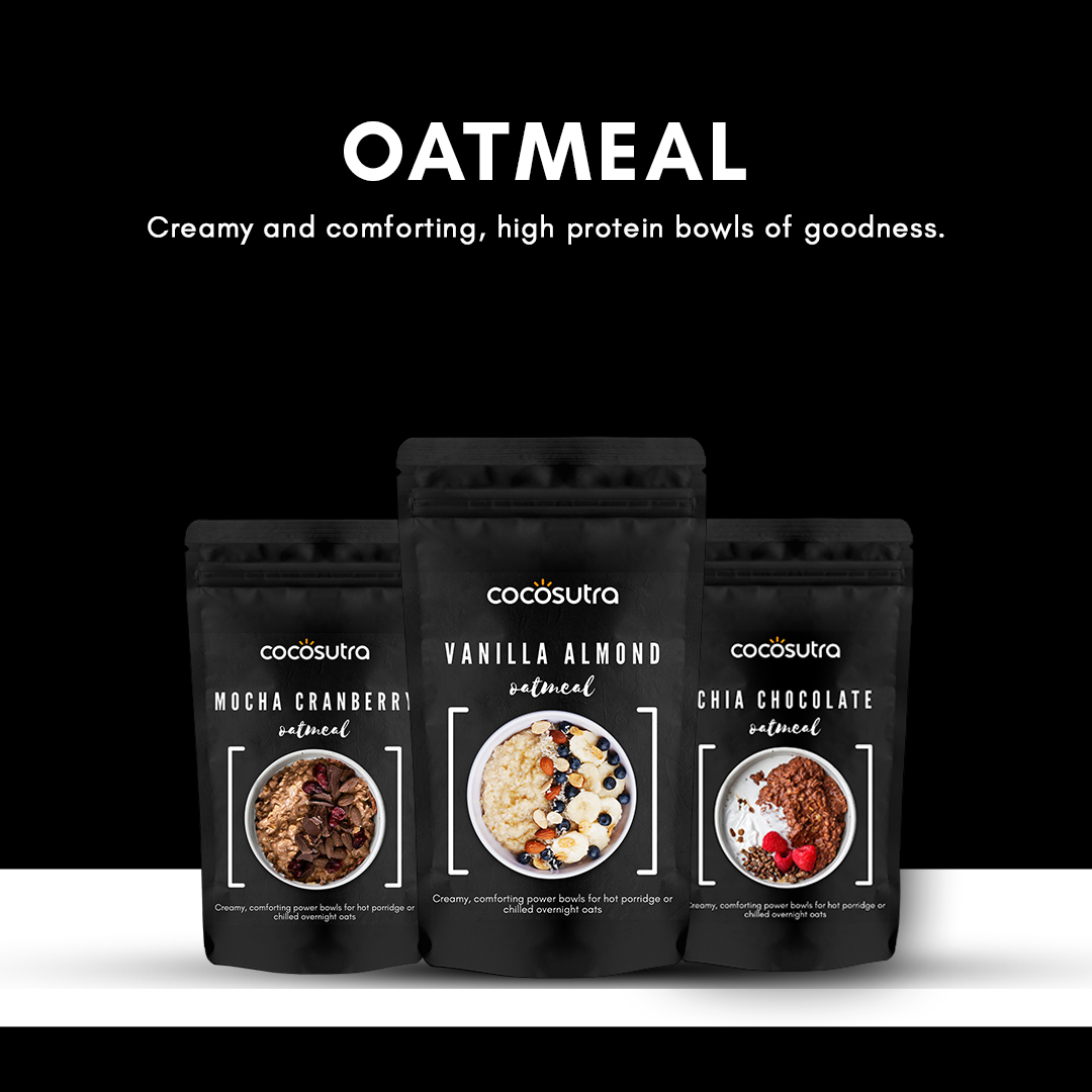 Oatmeal - Protein Rich - Cocosutra - Healthy Breakfast & Snack