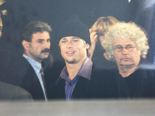 Brad Pitt @ premiere Seven years in Tibet in Amsterdam