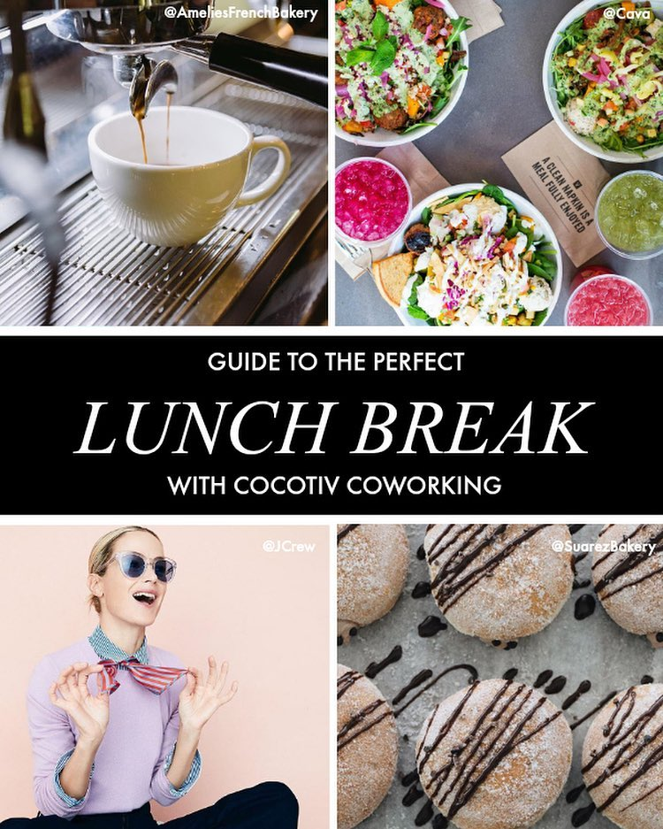 Guide to the Perfect Lunch Break