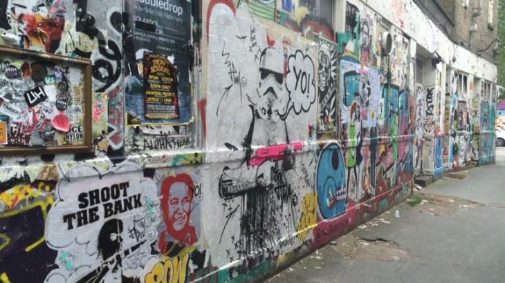 ロンドンアートや古着を楽しむならイーストエンド ショーディッチ地区がおすすめ