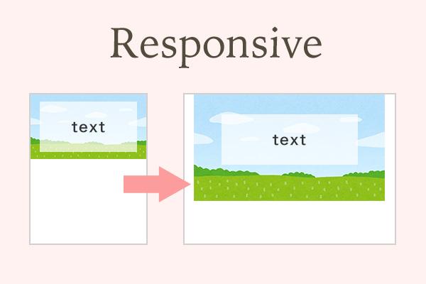レスポンシブ対応時便利な背景画像サイズを変更する実装方法