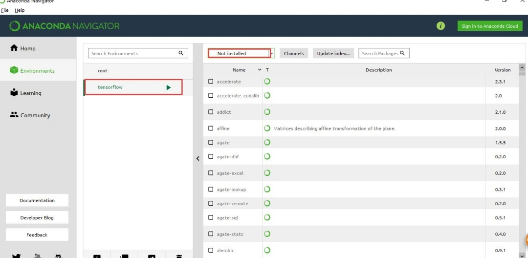 Win10下用Anaconda安裝TensorFlow | 開源互助社區
