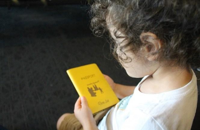 Çocuklar için pasaport
