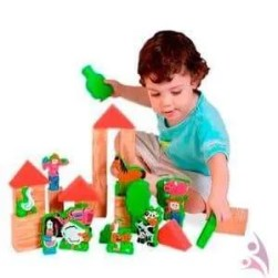 selection of children toys and