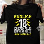 18 Geburtstag Party 2002nager Mann Frau Lustig Geschenk Shirt