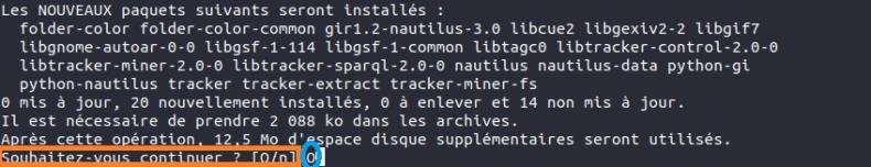 Ubuntu couleur perso pour chaque dossier