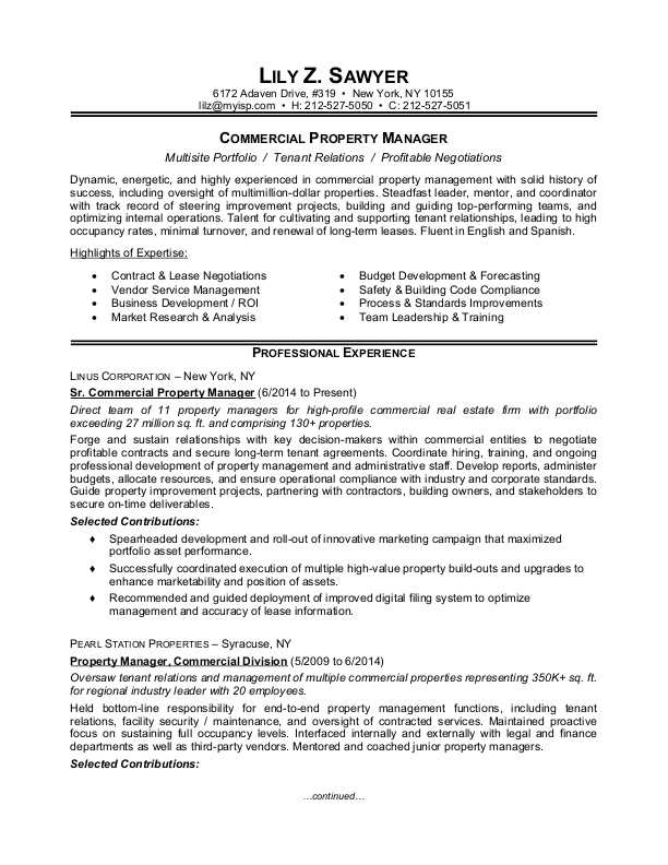 commercial-property-manager-sample-resume Proxy Letter Template Word Doc on presentation kids, leadership cover page, business letter, certificate appreciation, chore chart, army opord, teacher gradebook,