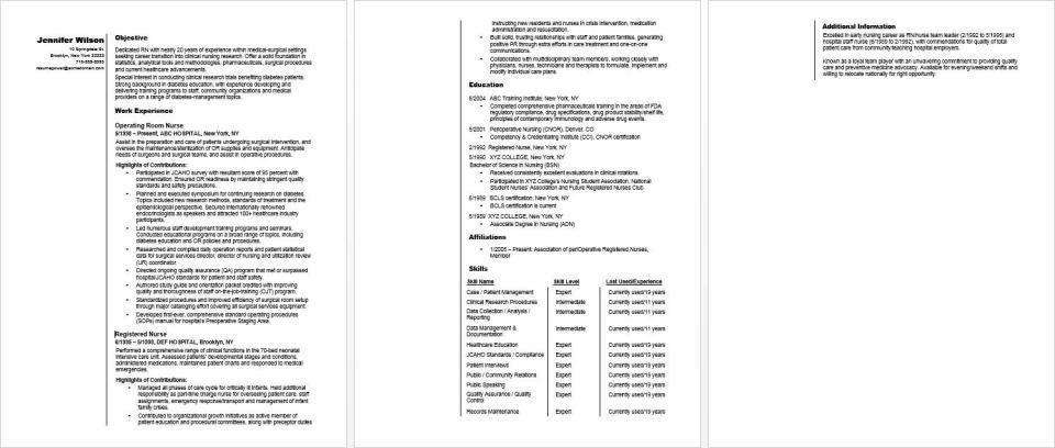 Image Result For Administration Job Resume