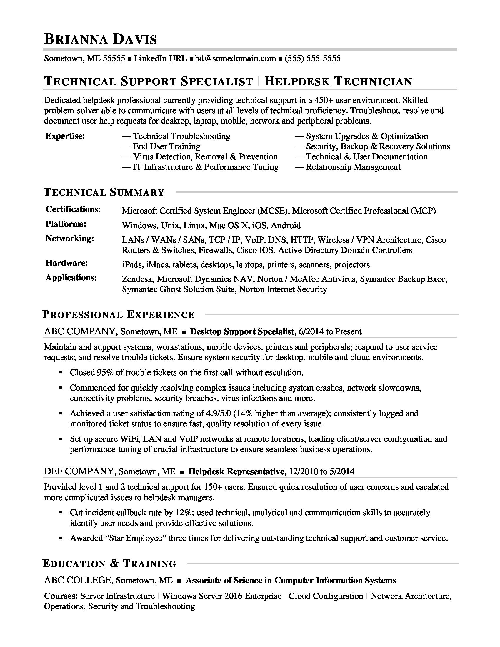 Information Manager Technology Job Description Security