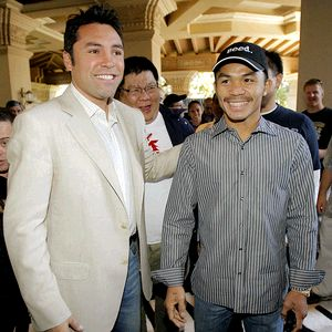 Pacquiao vs De la Hoya