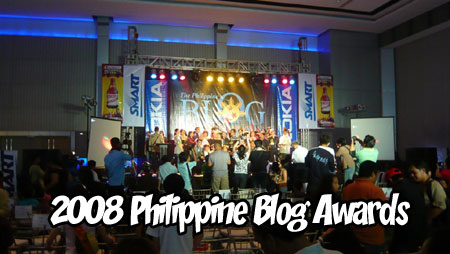 Philippine Blog Awards Pictures