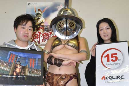 gladiator cosplay babe