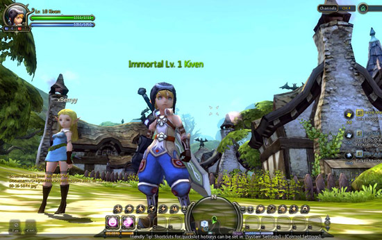 dragon nest video level guide