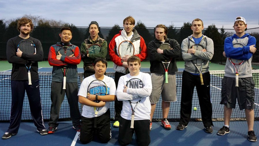 The+Chaparral+Men%27s+Tennis+Team+as+of+March+19.+
