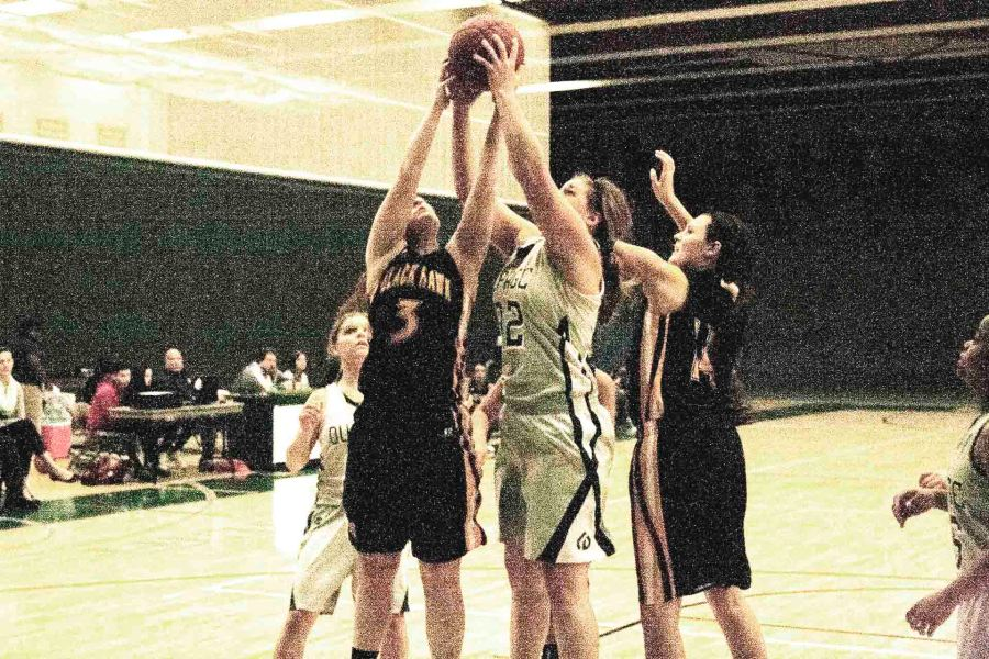 Chaparral+forward+Hannah+Kosinski+attempting+a+rebound+in+a+game+against+Black+Hawk-Moline+at+the+College+of+DuPage+on+Dec.+5.