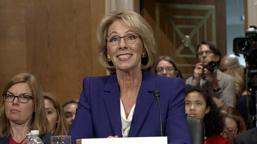 If Confirmed Betsy Devos Will Be >> Staff Editorial Betsy Devos Confirmation Is A Tragic Mismatch For