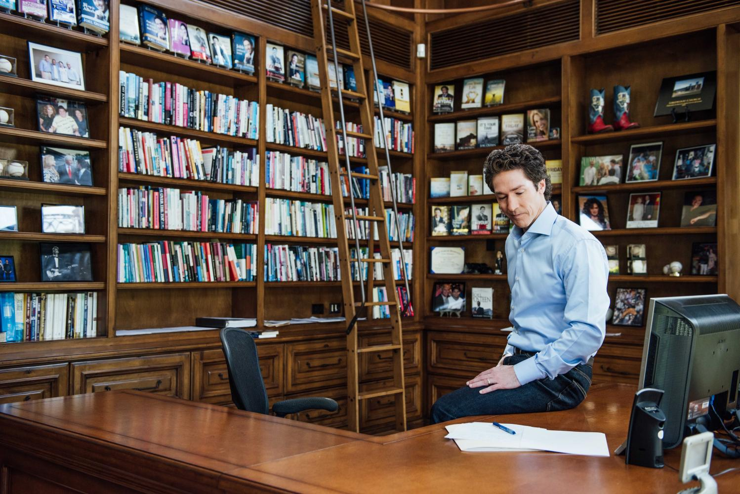 Joel Osteen, famous televangelist pastor waited until last minute before opening his 16,800 seat Lakewood church to victims of Hurricane Harvey