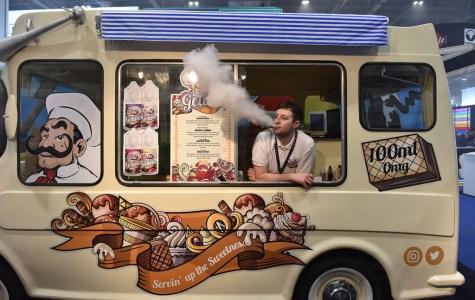 Bubble pop? Brownie batter? Vapes' added flavors fuel e-cig debate
