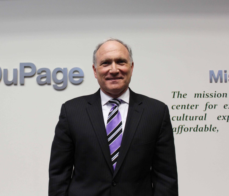 College of DuPage Interim President Brian Caputo -