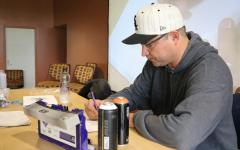 Hip Hop Summit Graffiti workshop shows students artwork and culture
