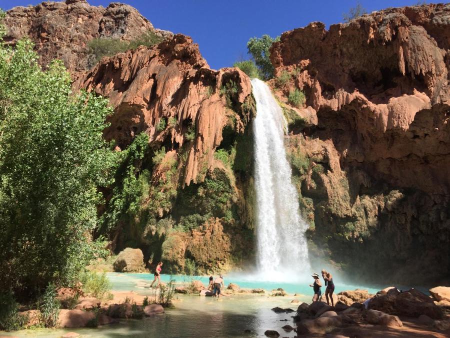 Havasupai+Falls%2C+Arizona